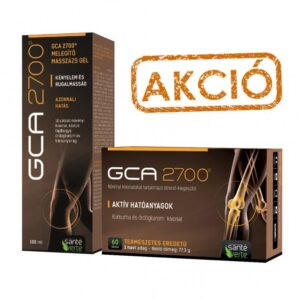 GCA 2700 tabletta és gél - 60db+100ml