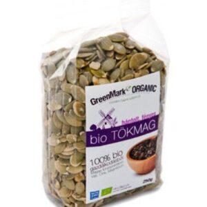 GreenMark bio tökmag hántolt fényes – 250g