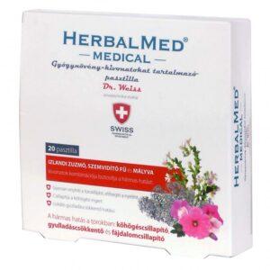 Herbal Swiss Medical Pasztilla – 40db