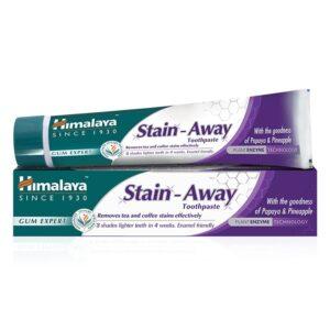 Himalaya Herbals Stain-Away gyógynövényes folteltávolító fehérítő fogkrém – 75ml