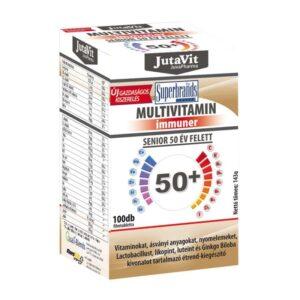 Jutavit Multivitamin 50+ tabletta - 100db