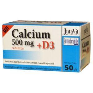 Jutavit Calcium+D3-vitamin tabletta – 50db