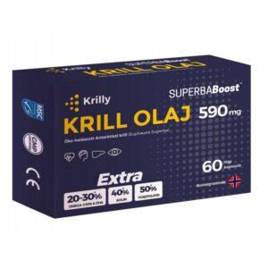 Krilly Krill olaj 590mg lágyzselatin kapszula – 60db