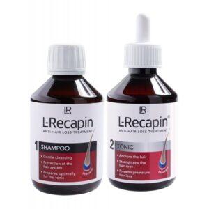 LR L-Recapin Sampon + Tonic – 2x200ml