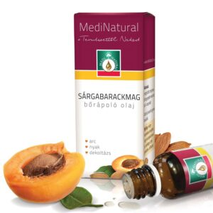 Medinatural bőrápoló olaj sárgabarackmag - 20ml