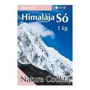 Nature Cookta Himalája sötét rózsaszín kristálysó - 1000g