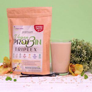 Netamin Vegan Prot3in Triplex vanília – 550g