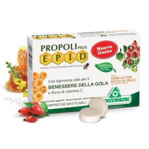 Specchiasol EPID Propolisz+Cink szopogatós tabletta Mézes-mentás ízben – 20db