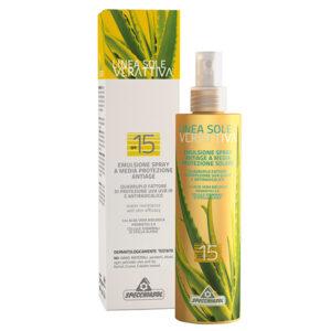 Specchiasol Verattiva 15 faktoros napozó spray – 200ml