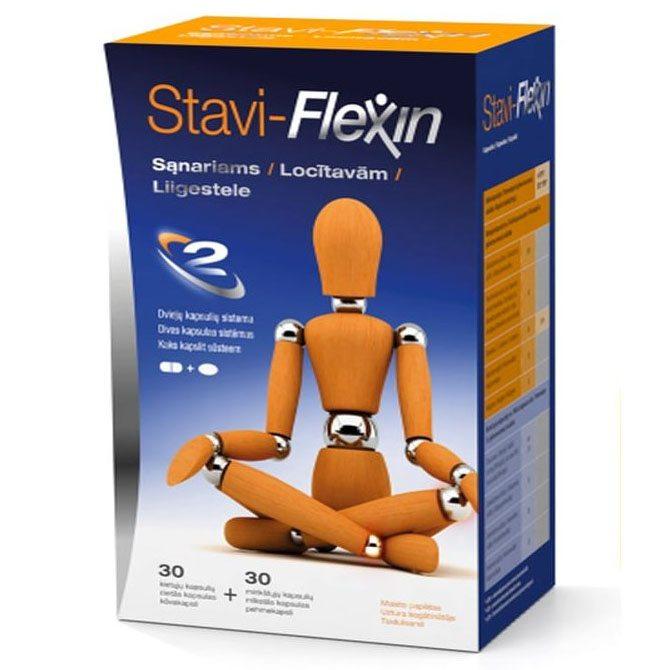 Stavi-Flexin ízületvédő kapszula – 2x30db
