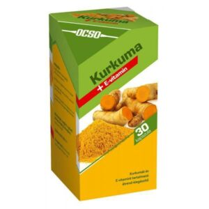 OCSO-Kurkuma-E-vitamin-kapszula-30db