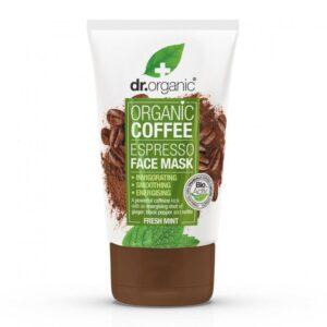 Dr. Organic Bio kávé élénkítő arcpakolás – 125ml