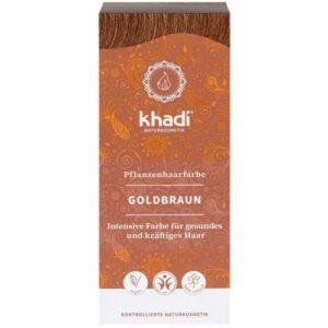 Khadi Növényi hajfesték – aranybarna – 100g