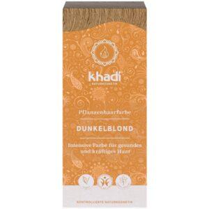 Khadi Növényi hajfesték – sötétszőke – 100g
