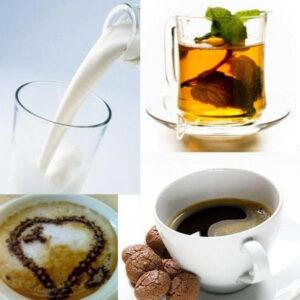 Kávé, kakaó, forrócsoki