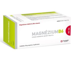 Goodwill Magnézium B6-vitamin filmtabletta - 60db
