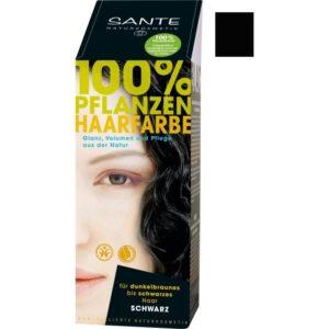 sante növényi hajfesték fekete – 100g