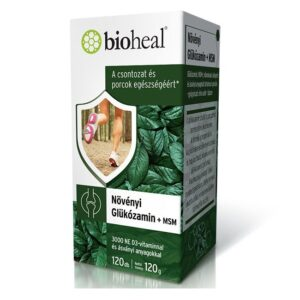 Bioheal Növényi Glükózamin + MSM filmtabletta - 120db