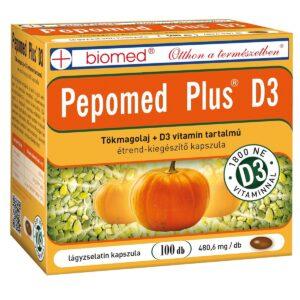 Biomed Pepomed Plus D3-vitamin kapszula - 100db