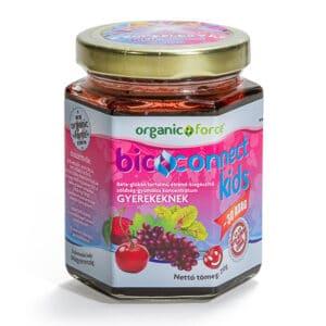 Bioconnect Kids szuperlekvár, béta-glükán tartalmú gyümölcs-zöldség koncentrátum gyerekeknek – 210g