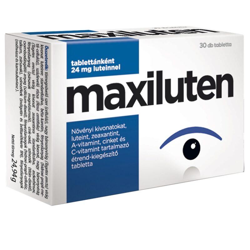 tabletták a látásvesztés megelőzésére