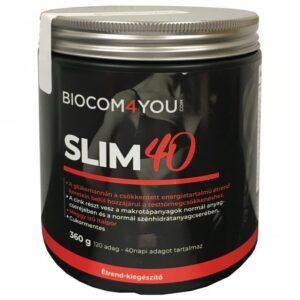 Biocom Slim 40 meggy italpor - 360g
