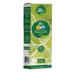 Zafir D3+K2 Vitamin Komplex cseppek - 50ml