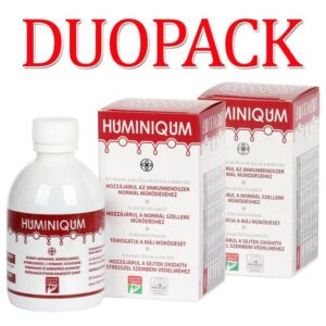 Huminiqum Huminsav és fulvosav tartalmú szirup DUOPACK - 2x250ml