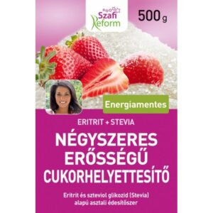 Szafi Reform Négyszeres erősségű édesítő - 500g