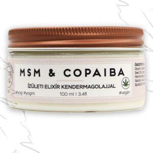 Pranagarden MSM & Copaiba vegán testápoló vaj - 100ml