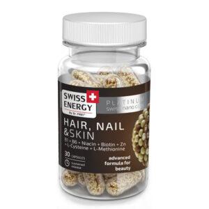 Swiss Energy Hair, Nail&Skin - haj, bőr, köröm kapszula - 30db