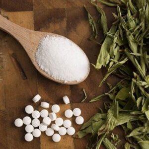 Stevia, Xilit, Eritrit, Nádcukor