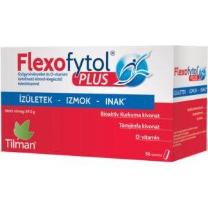 Flexofytol Plus tabletta - az ízületek, izmok, ínak védelmében - 56db