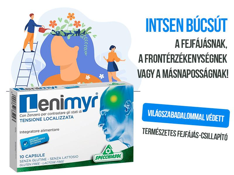 Specchiasol Lenimyrrel szabaduljon meg a fejfájástól gyorsan, hatékonyan!