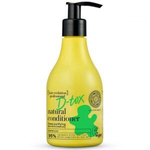 Natura Siberica Hair Evolution professional ''D-tox'' természetes hajkondícionáló - 245ml