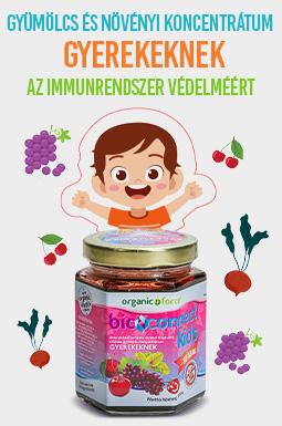 Bioconnect Kids szuperlekvár, béta-glükán tartalmú gyümölcs-zöldség koncentrátum gyerekeknek