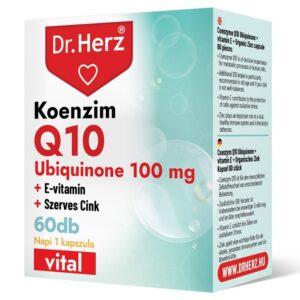 Dr. Herz Koenzim Q10 100mg kapszula - 60db