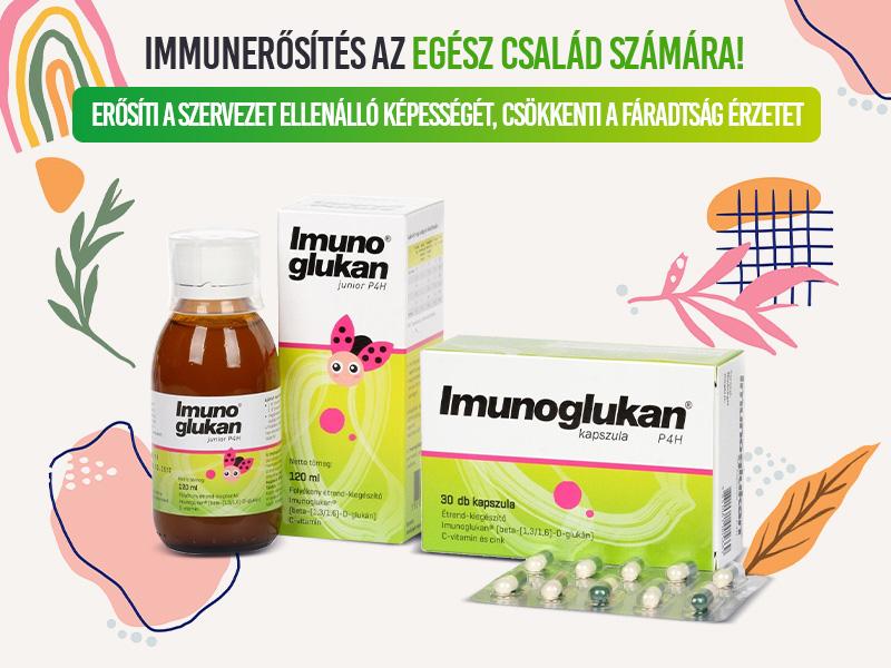 Támogassa az egész család immurendszerét az Imunoglukan sziruppal és kapszulával!