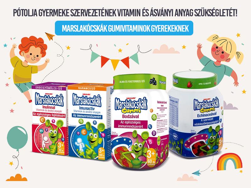 Erősítse gyermeke immunrendszerét a Walmark Marslakócskák segítségével!