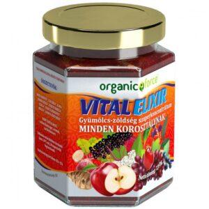 Organic Force VitalElixír gyümölcs-zöldség szuperkoncentrátum - 210g