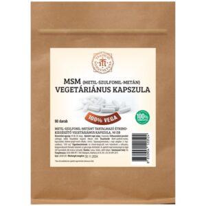 T.M. Tradíció Manufaktúra MSM vegetáriánus kapszula - 90db